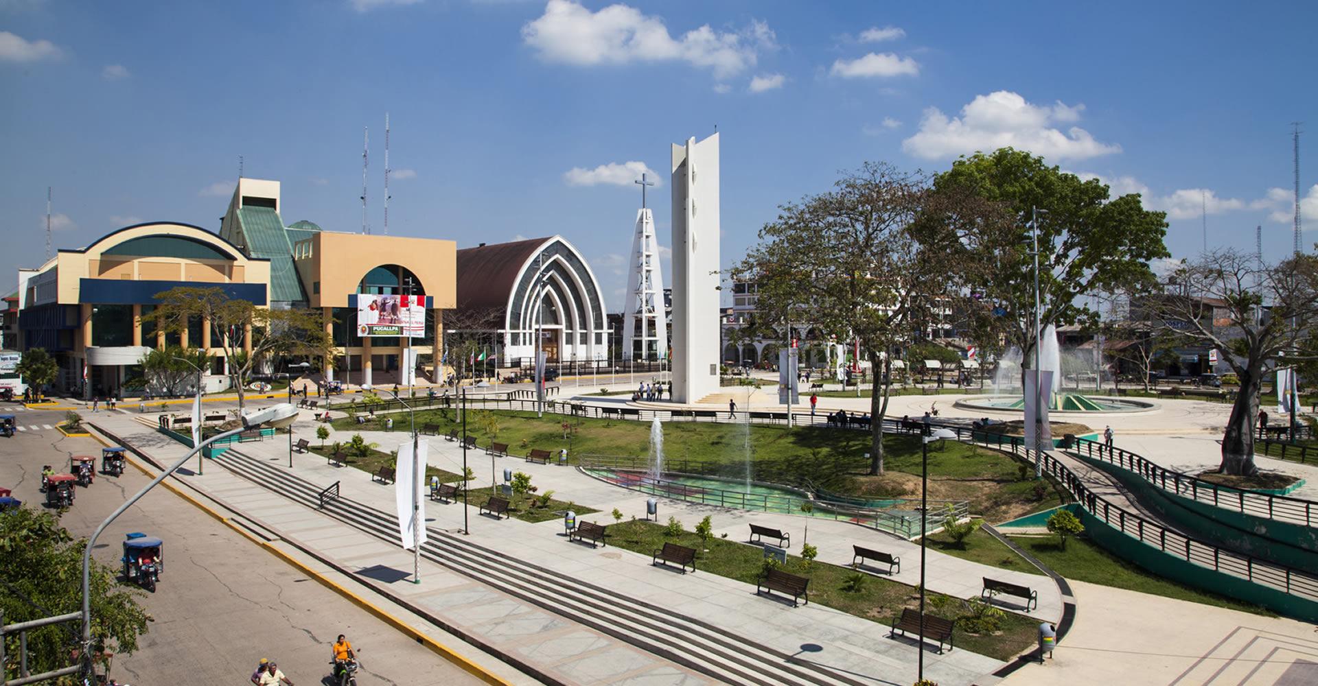 8cf1af2871 Plaza de Armas de Pucallpa